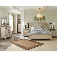 Demarlos Panel Bedroom Set Millennium | Furniture Cart