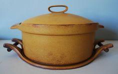 Bennington Potters Casserole and Trivet by krakencrafts, via Flickr