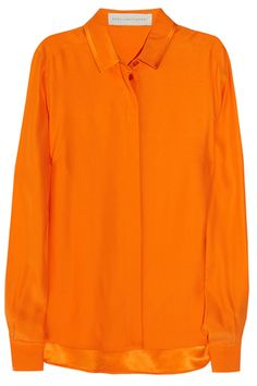 Blusa #tangerine by Stella McCartney