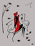 Мобильный LiveInternet Только листья с деревьев так и падают.... Художник Татьяна Марковцева (Tatyna Markovtsev) | Трииночка - Дневник Три И ночка |