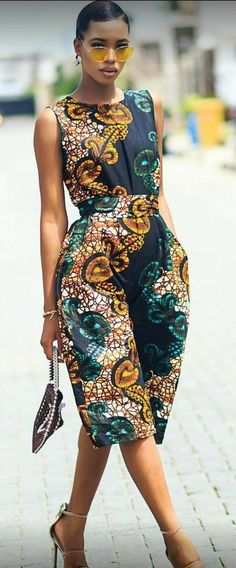 Rock the Latest Ankara Jumpsuit Styles these ankara jumpsuit styles and designs are the classiest in the fashion world today. try these Latest Ankara Jumpsuit Styles 2018 African Fashion Designers, African Inspired Fashion, Latest African Fashion Dresses, African Print Dresses, African Print Fashion, Africa Fashion, African Dress, Ankara Fashion, African Prints