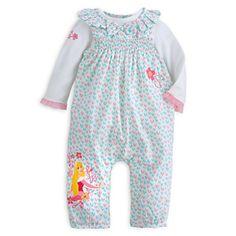 Aurora Romper and Bodysuit Set for Baby