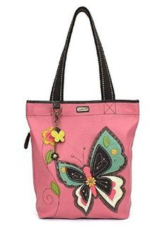 0617bffa41b2 Chala Handbag Everyday Tote (Butterfly Pink) (Butterfly Pink)  fashion   clothing