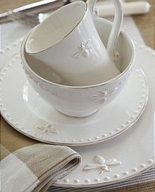 embossed honey bee dishes - Google Search