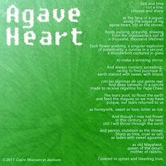 Today's #poem is called Agave Heart. It's a little autobiography, a little reverie, and maybe even a dash of ennui.  #Poetry #PoetsOfInstagram #LatinaPoet #LatinaPoetry #PoetsOfIG #Writing #WritersofInstagram #WritingLife #Versagram #Verse #poems #poemas #poeme #poema #LadyPoet #Agave #Maguey #Gods #WritersofIG