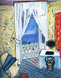 Henri Matisse. Interior with a Violin Case. 1919.