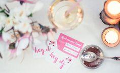 Hochzeit: Musikwunschkarten