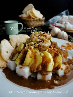 Citra's Home Diary: Resep Tahu Tek khas Surabaya (Surabaya style Tofu in peanut sauce)