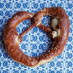 Laugenbrezel (Traditional German Pretzels)- find great German recipes on www.mybestgermanrecipes.com