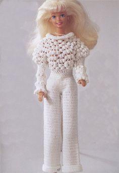 Вязаная Одежда для Кукол Барби