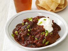 This is the kind of warm, hearty comfort food you'll want to come home to on a cool night. Start your slow cooker in the morning for this Slow-Cooker Texas Chili and the beef will be fall-apart tender by dinnertime.