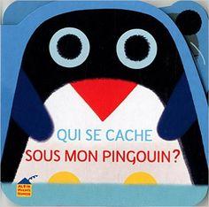 Amazon.fr - Qui se cache sous mon pingouin ? - Vincent Mathy - Livres Albin Michel Jeunesse, Arctic Circle, Paper Cutting, Illustrations Posters, 1 An, Amazon Fr, Albums, Graphics, Livres