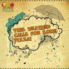 This weather calls for some pizza! :D https://www.facebook.com/14thstreetpizza/app_528151347209166
