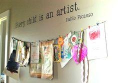 art and craft room rules | espacios de arte y creatividad para niños