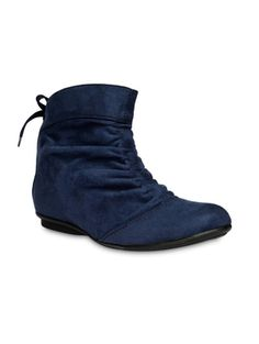 d23bfe4d2cb8 Buy Bruno Manetti Blue Suede Lace-Up Boots online