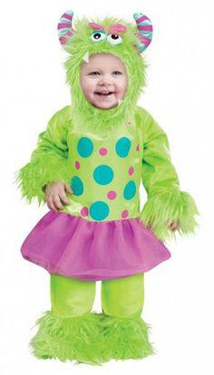 Ein grünes Monster-Baby im Ballettröckchen wünschen sich alle Monster-Eltern
