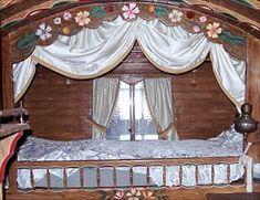 Gypsy caravan - gypsy wagon - interior