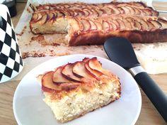 Bizcocho de vainilla y manzana