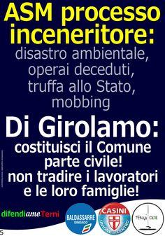 DifendiAmoTerni >>> la nuova campagna di stampa per sollecitare decisioni urgenti a questa Giunta che sta sgovernando Terni