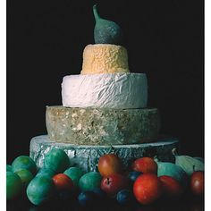 Buy The Fine Cheese Co. Beth Celebration Cheese Cake. Tim and Claire's Christmas Eve Wedding 24/12/11   @Rockmywinterwedding #rockmywinterwedding