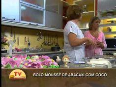 Santa Receita | Bolo Mousse de abacaxi com coco por Margareth Coledan - 20 de Maio de 2014 - YouTube