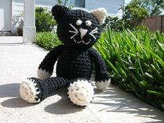 Ally the Cat Amigurumi Crochet Pattern pattern | $4.00 by Sherri Bush