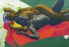 Jacques Majorelle - Repos sous la lune (1932)