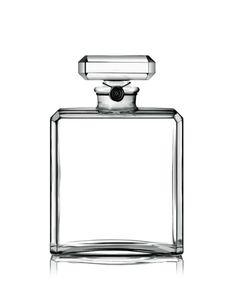 flacon Chanel parfum N°5 flacon vide avec bouchon CC