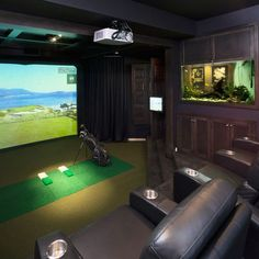 1000 Images About Golf Simulator On Pinterest Golf Simulators Golf And Golf Room