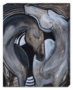 Spiral, Horse Art Canvas, Artist Erica Nordean, Horse Art, Prints on Canvas…