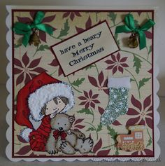 For details of products used please go to my blog:-  http://kraftykoolkat.blogspot.co.uk/2015/08/have-beary-merry-christmas.html Thank you Hugs Cathy xxxx