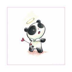 Panda Love Tiem By Snowmask