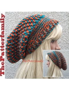 This video crochet tutorial will help you learn How To Crochet a Slouchy Hat Pattern #33. Music: From YouTube audio library. My favorite YouTube Channel: htt...