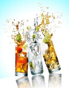 Still Life Product Photographer Pedersen drink beverage cocktail alcohol splash spill action liquid lime fruit