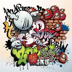 Graffiti elements