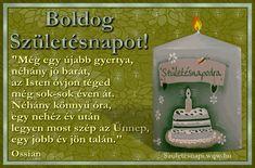 Idézetes képeslap születésnapra, Ossian dalszöveg idézettel