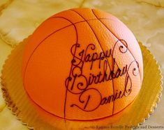 Basketball Cake Ideas Birthday