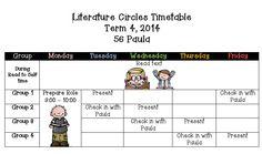 Reading - Guided - Reciprocal - Literature Circles