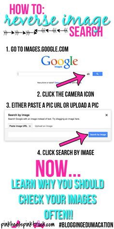 Blogging Edumacation: Reverse Image Search via pinkheelspinktruck.com #bloggingedumacation