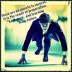 what's the secret to #achieve the #success