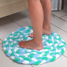 Recycled Towel Bathmat                                                                                                                                                                                 もっと見る