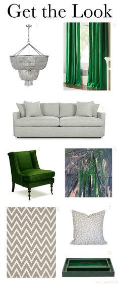 Chic Combinations Emerald Green Grey Arianna Belle For LDV
