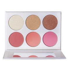 3 gorgeous highlighter shades and 3 vibrant blush shades to give your face beat a glow. South African Shop, Dream Doll, Glow Kit, Cosmetic Companies, Face Beat, Blush, Eyeshadow, Shops, Vibrant