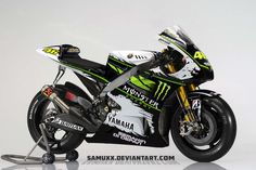 YAMAHA MONSTER ENERGY 2013 by SAMUXX.deviantart.com on @deviantART