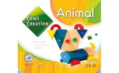 Jeu de construction magnétique Animaux - Brault & Bouthillier Bb, Logos, Games, Gift Ideas, Gaming, Animaux, Logo, Plays, Game