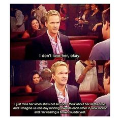 The last part is sometimes what I keep to myself when I say I don't like someone... Lol. I love Barney.