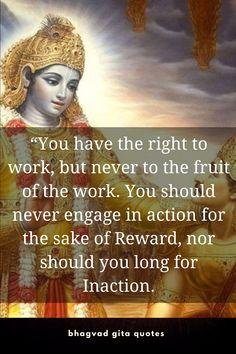 Hindu Quotes, Gita Quotes, Spiritual Quotes, Bhagavad Gita, Krishna Art, Gods Grace, Mythology, Spirituality, Journey