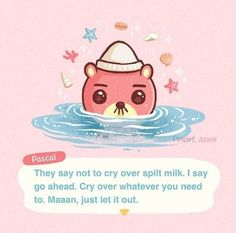 Animal Crossing Fan Art, Animal Crossing Memes, Animal Crossing Pocket Camp, Iphone Wallpaper Cat, Funny Animals, Cute Animals, Baby Pink Aesthetic, Pokemon Fan Art, My Animal