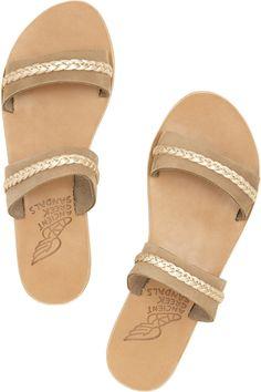 Melisanthi braided leather sandals