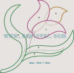 Moldes flores - Naikari Naika - Álbuns da web do Picasa